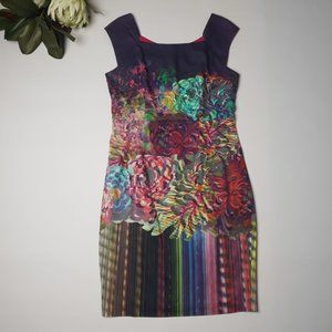 ANTHEA CRAWFORD Multi-Colour Floral Size 14